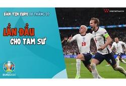 Nhịp đập EURO 2021 | Bản tin ngày 08/7: Lần đầu cho Tam Sư