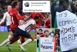 """""""Bóng đá ngã về nhà"""": Fan Italia mỉa mai quả penalty đưa Anh vào chung kết EURO"""