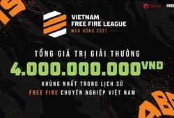 VFL Mùa Đông 2021 - Giải đấu Free Fire có số tiền thưởng lớn chưa từng có