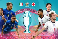 Thống kê đặc biệt của trận chung kết EURO 2021 Anh vs Ý