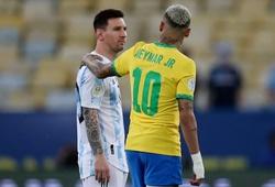 Đội hình ra sân Brazil vs Argentina chính thức: Neymar đấu Messi