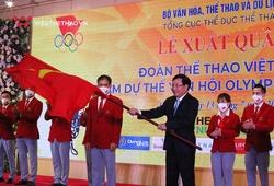 Thể thao Việt Nam xuất quân tham dự Olympic Tokyo 2020