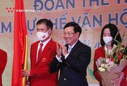 Chùm ảnh Lễ xuất quân Đoàn Thể thao Việt Nam dự Olympic Tokyo 2020
