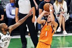 Bùng nổ tại Game 4, Devin Booker làm nên lịch sử trong ngày buồn của Phoenix Suns