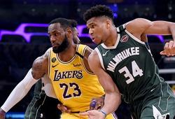 """Top 15 áo đấu bán chạy nhất nửa sau mùa NBA 2020-21: """"Ông vua"""" LeBron và Giannis"""