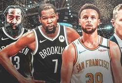 Kevin Durant nhận xét lối chơi giữa Stephen Curry và James Harden