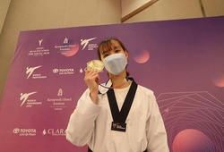 VĐV taekwondo Trương Thị Kim Tuyền cập bến Tokyo, bắt đầu hành trình Olympic