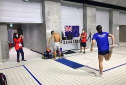 Ánh Viên tập buổi chính thức đầu tiên cho Olympic 2021