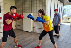 """Xem hai đại diện Boxing Việt Nam """"so găng"""" tại Olympic Tokyo 2021"""