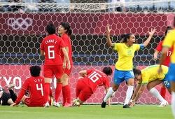 Video Highlight nữ Trung Quốc vs nữ Brazil, Olympic 2021