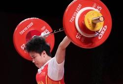 VĐV cử tạ Trung Quốcphá 3 kỷ lục, đoạt huy chương vàng thứ 2 của Olympic 2021
