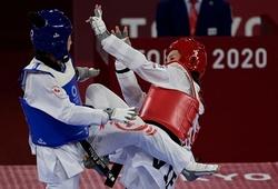 Chùm ảnh: Kim Tuyền vượt trội đối thủ Canada ngày ra quân Olympic
