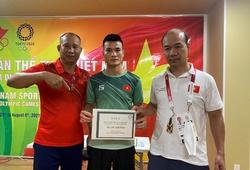 Webthethao.vn thưởng nóng VĐV Nguyễn Văn Đương tại Olympic Tokyo