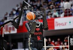 Robot ném rổ siêu chính xác tại Olympic 2021 khiến cư dân mạng phát cuồng