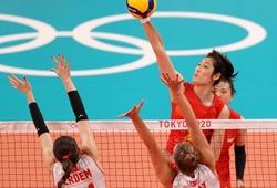 """Kết quả bóng chuyền Olympic Tokyo ngày 25/7: Hai """"chị lớn"""" châu Á gặp vận đen"""
