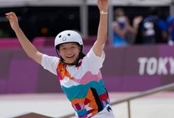 Ở tuổi 13, Momiji Nishiya trở thành VĐV đầu tiên vô địch trượt ván nữ tại Olympic