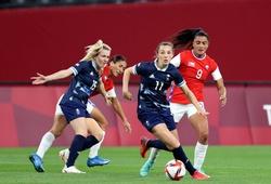 Kết quả bóng đá nữ Canada vs nữ Anh, Olympic 2021