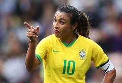 Trực tiếp bóng đá nữ Brazil vs nữ Zambia, Olympic 2021