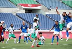 Kết quả bóng đá U23 Saudi Arabia vs U23 Brazil, Olympic 2021