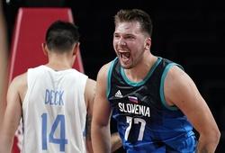 Trực tiếp bóng rổ Olympic Slovenia vs Nhật Bản: Luka Doncic tìm chiến thắng thứ hai