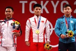 """Kinh ngạc với """"mỏ"""" huy chương cử tạ của Indonesia ở Olympic"""