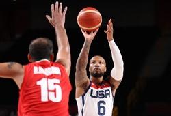 Trực tiếp bóng rổ Olympic: Mỹ vs Séc (19h, 31/7)
