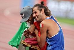 Đặc sắc Olympic: Hai vận động viên nhảy cao chia nhau Huy chương vàng