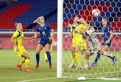 Kết quả bóng đá nữ Úc vs nữ Thụy Điển, bán kết Olympic 2021