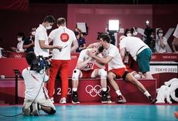 Kết quả tứ kết bóng chuyền nam Olympic Tokyo: Sốc và bất ngờ