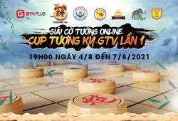 Giải đấu cờ tướng online cúp Tượng Kỳ GTV lần 1