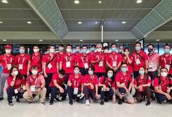 Đoàn thể thao Việt nam về nước, khép lại hành trình Olympic Tokyo