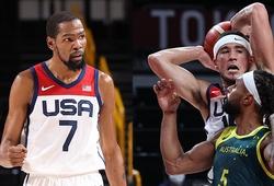 Tuyển Mỹ bùng nổ hiệp 3, đánh bại tuyển Úc để vào chung kết bóng rổ Olympic 2021