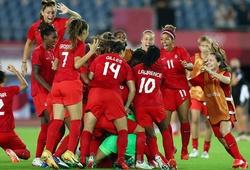 Kết quả bóng đá nữ Thụy Điển vs nữ Canada: Nữ Canada giành HCV
