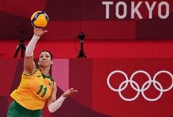 SỐC: VĐV bóng chuyền nữ Brazil dính nghi án doping trước thềm bán kết
