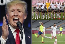 Donald Trump bất ngờ... bình luận bóng đá nữ Olympic Tokyo