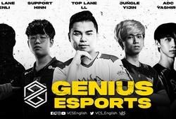 LMHT: Genius Esports chiêu mộ Yijin, Rby và LL, tham vọng là thế lực mới tại VCS?