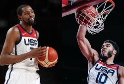 Kevin Durant rực sáng, tuyển Mỹ đoạt huy chương vàng bóng rổ nam Olympic 2021