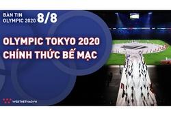 Nhịp đập Olympic 2021 | 08/08: Olympic Tokyo 2020 chính thức bế mạc