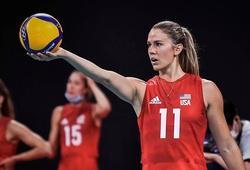 Tiếp tục vượt qua Brazil, bóng chuyền nữ Mỹ giành HCV Olympic Tokyo 2021