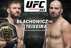 """UFC 267: Những cái tên khủng chuẩn bị trở lại """"Đảo Quyết Đấu"""""""