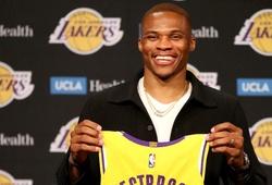 """Russell Westbrook ra mắt LA Lakers: """"Tôi vốn luôn muốn về nhà"""""""