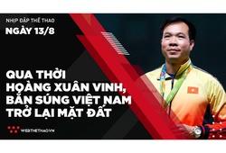 Nhịp đập Thể thao 13/08: Qua thời Hoàng Xuân Vinh, Bắn súng Việt Nam trở lại mặt đất