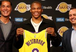 """3 ngôi sao bị Russell Westbrook """"ngáng đường' tới Los Angeles Lakers"""