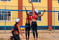 Bóng chuyền bãi biển Việt Nam sôi động với giải đấu nội bộ