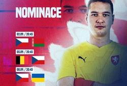 Filip Nguyễn trở lại tuyển CH Czech, tranh vé dự World Cup 2022