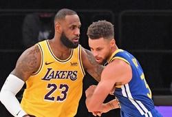 LA Lakers, Golden State Warriors chiếm sóng truyền hình nhiều nhất NBA 2021-22