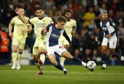 Kết quả West Brom vs Arsenal, vòng 2 cúp Liên đoàn Anh
