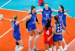 """Dàn """"khủng long 10X"""" của bóng chuyền Nga khiến nhiều đối thủ ôm hận"""