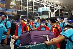 Đội tuyển Việt Nam đã đặt chân đến Saudi Arabia