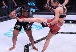 """Kết thúc bằng combo """"đông cứng"""" đối thủ, Emily Ducote được đề cử """"Knockout của năm"""""""